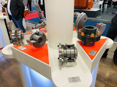 Clamping systems, torque limiters or pin and bush couplings for industrial gears and geared motors